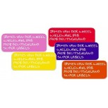 Super Name Labels Ton sur Ton set 40 pcs