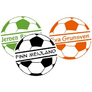 Football Name Labels