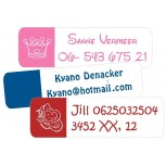 Trendy Large Name Labels