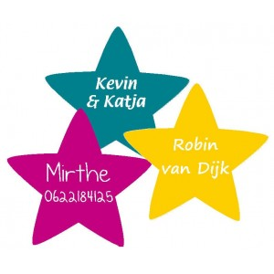 Star Name Labels