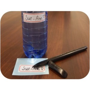 Mini writable stickers Edge