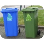 Wheelie bin Label 'House'