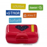 Small Name Labels Vario. 5 Color set!