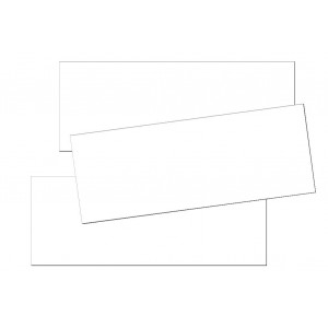 Poly/Cotton Iron-on Labels S - blank -