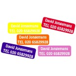 Large Name Labels Ton sur Ton set 50 pcs