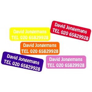 Large Name Labels Ton sur Ton. 5 Color set!