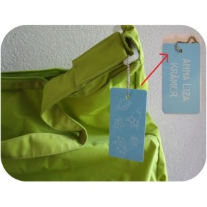 Bag Tag with name