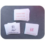 Vegan Cotton sew-in labels