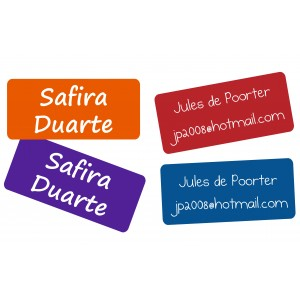 Rosti Mepal Duo Name Labels